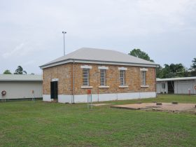 The 1887 Fannie Bay Gaol Infirmary. The roof dates from the 1980s.