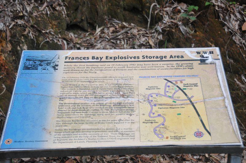 Interpretive map of facility
