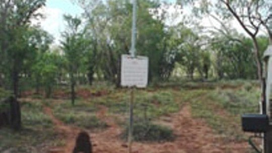 Frew Ponds Overland Telegraph Line Memorial Reserve, Tennant Creek Area, Northern Territory, Australia