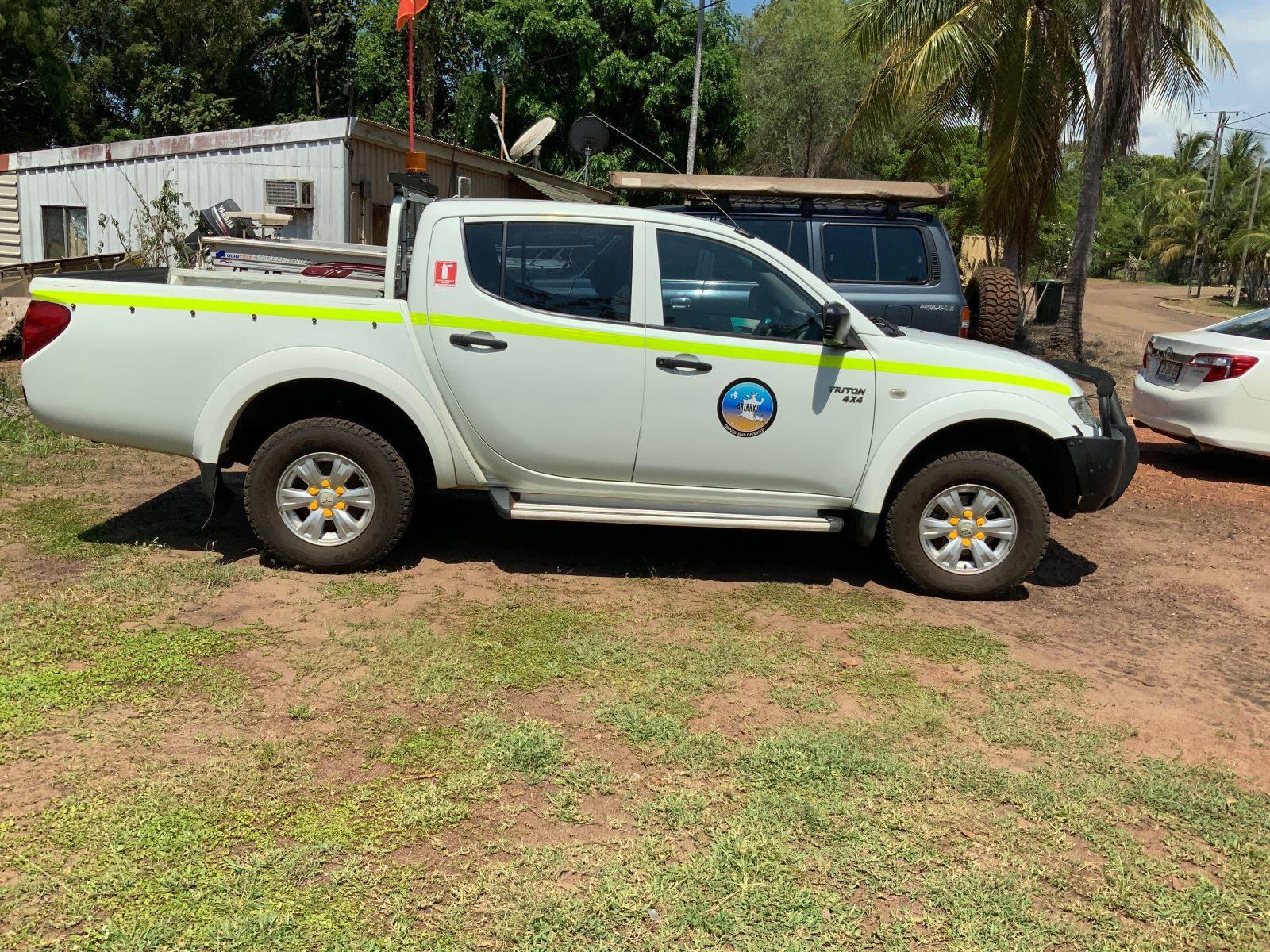 4 wheel drive hire Groote eylandt