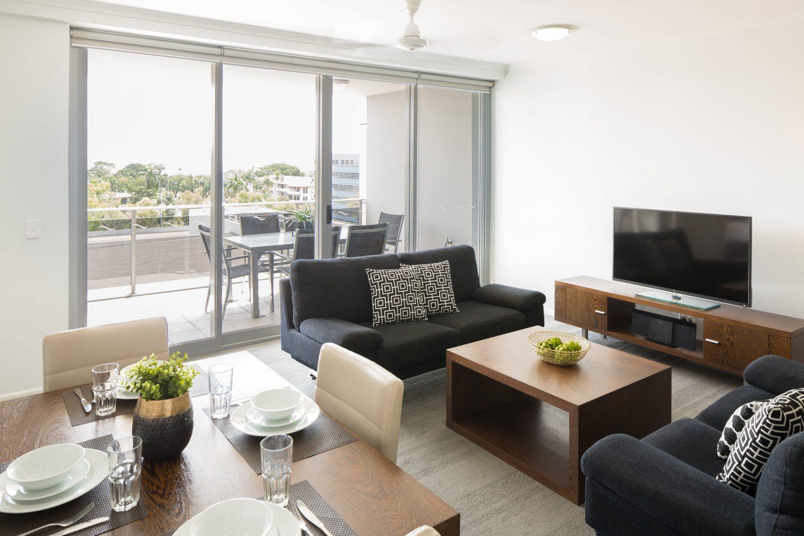 H20 Living & Balcony