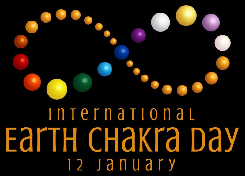 International Earth Chakra Day Logo