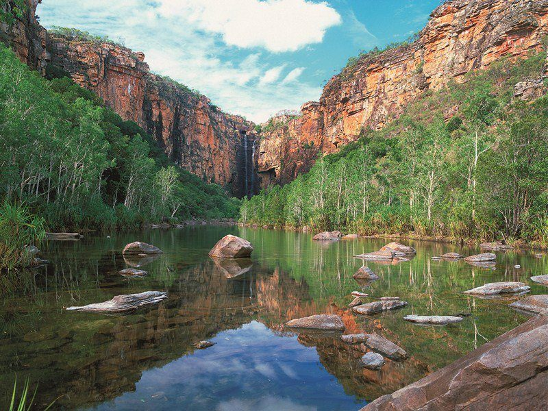 Jim Jim Falls - Kakadu National Park Northern Territory
