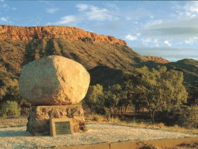 John Flynn's Grave Historic Reserve - Alice Springs Area Northern Territory