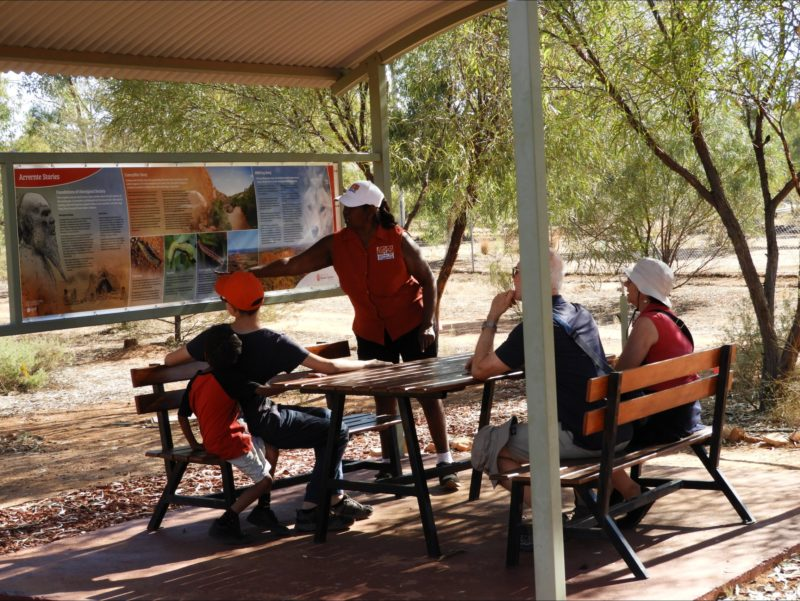 Creation stories Indigenous Aboriginal cultural walking tours Alice Springs Northern Territory