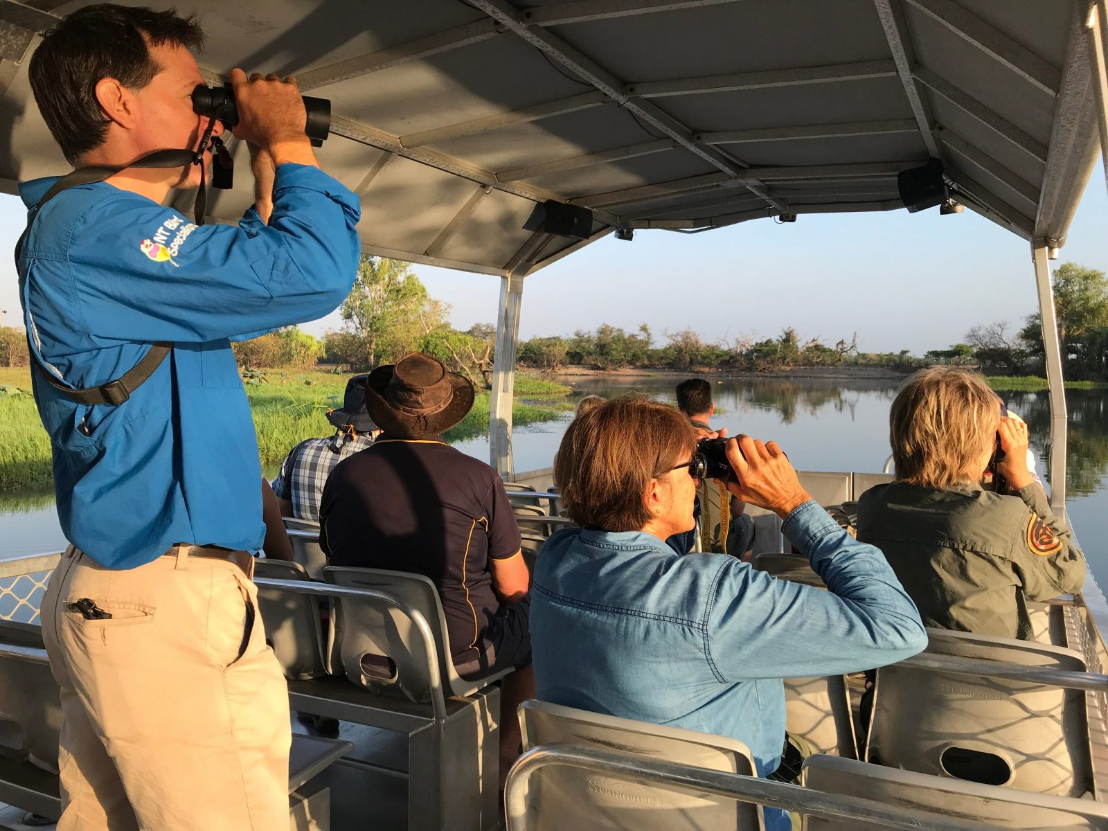 Birding cruises Northern Territory Luke Paterson