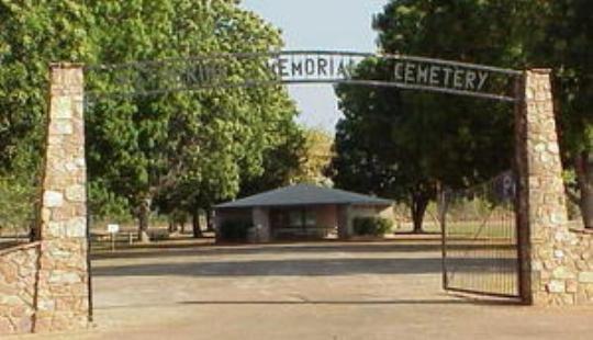 Katherine Cemetery, Katherine Area, Northern Territory, Australia