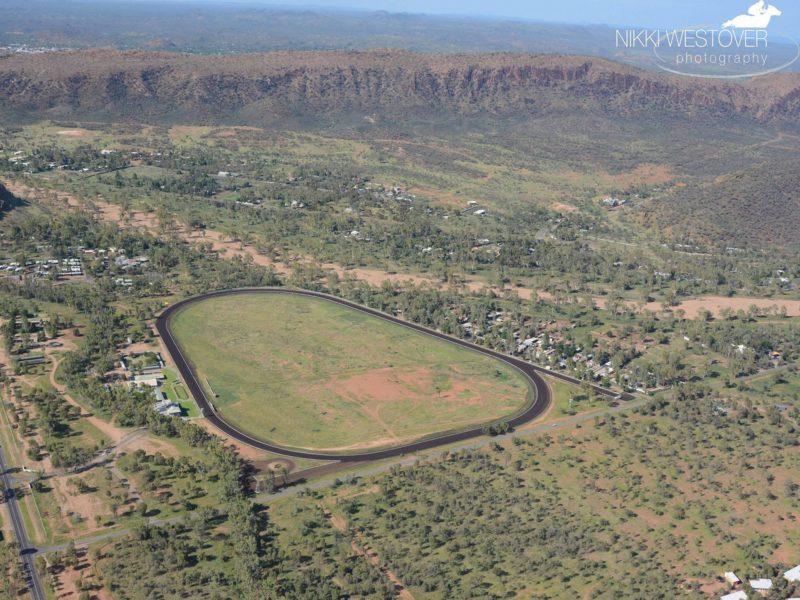 Aerial Photo of Racecourse