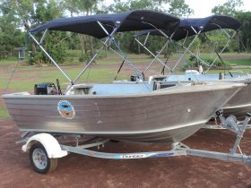 Photo Leaders Creek Hire Boats