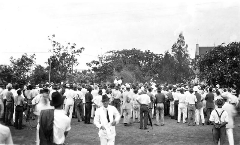 1918 - The Darwin Rebellion, Liberty Square
