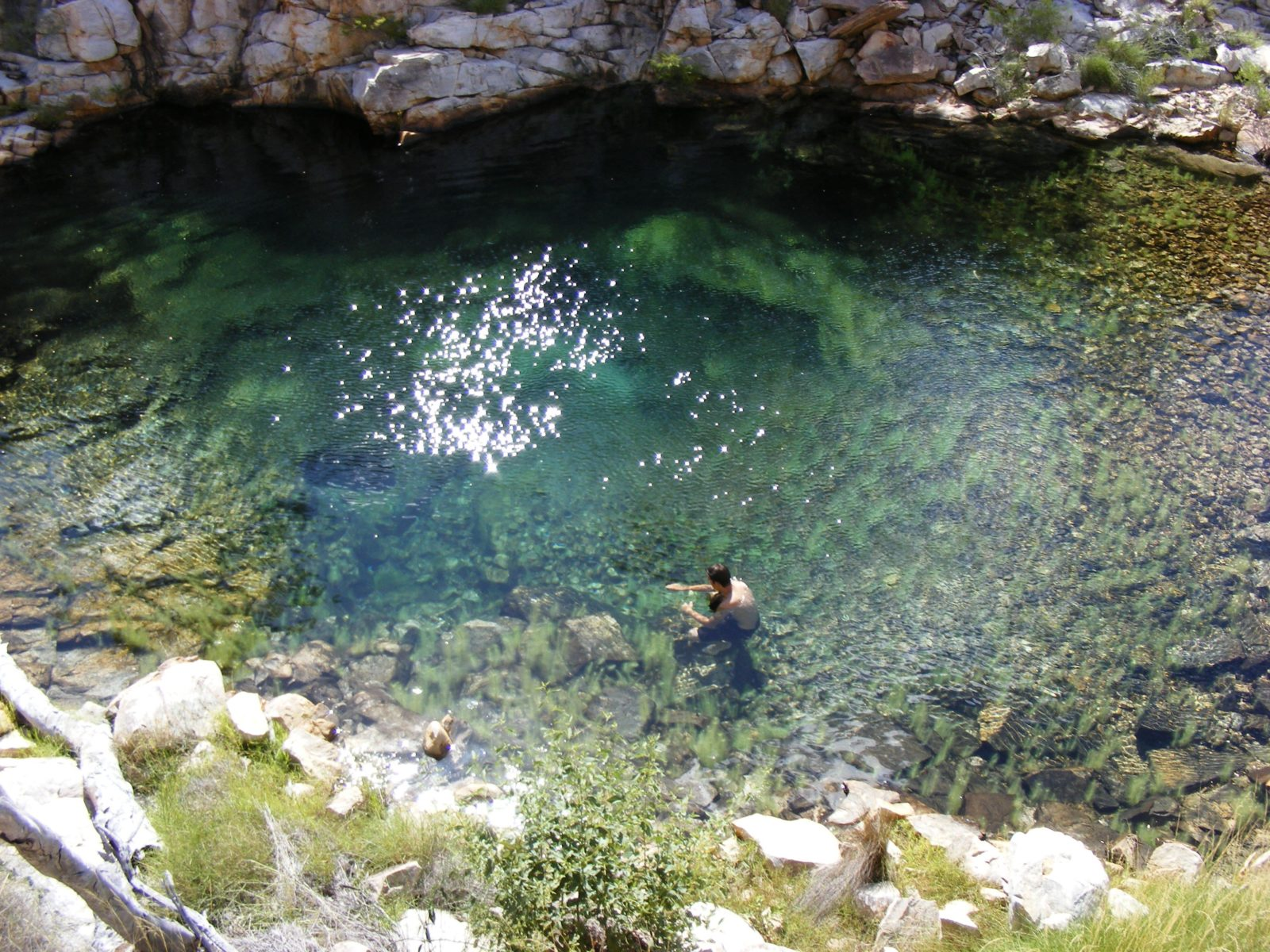 natural springs and swimming holes at Lorella