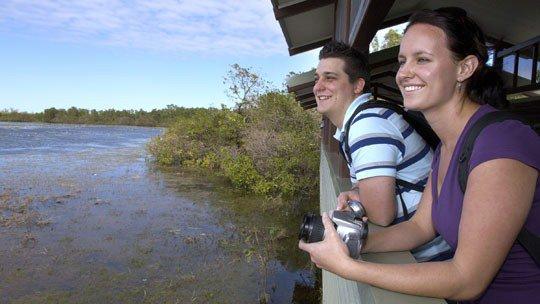 Mamukala Wetlands and Bird Hide - Kakadu National Park - Northern Territory