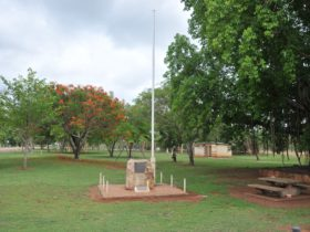 War memorial within Stan Martin Park