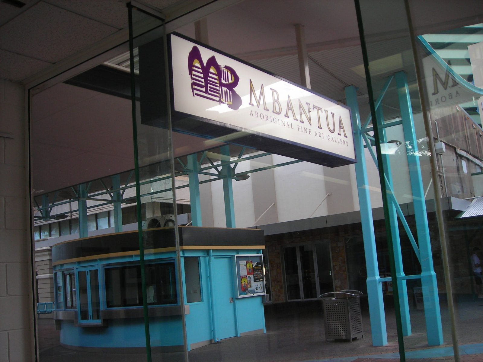 Mbantua Gallery Darwin frontage
