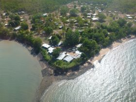 melville island lodge from the air
