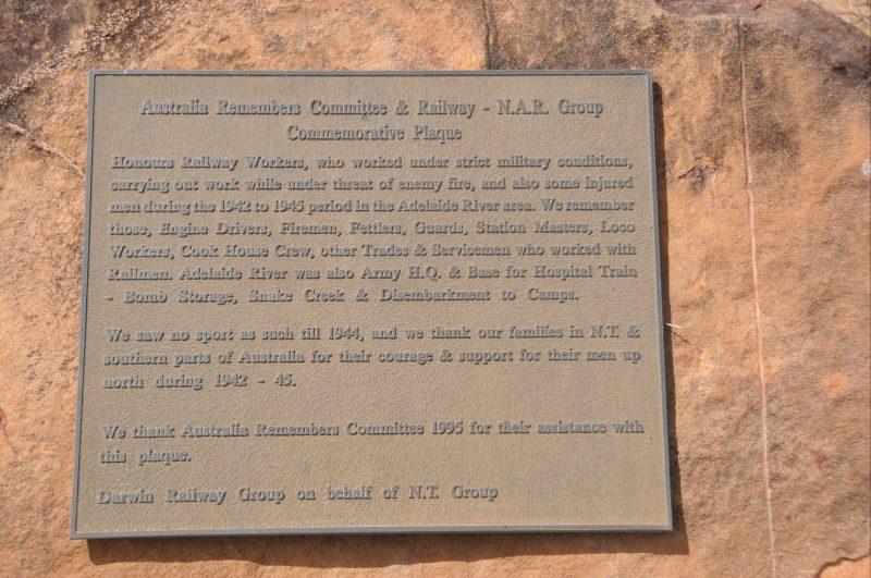 Commemorative plaque text