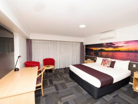 Newly renovated Superior Room featuring stunning local scenery.