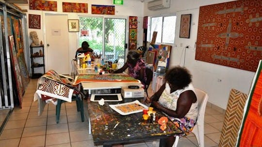 Mimi Aboriginal Arts and Crafts - Katherine Area Northern Territory