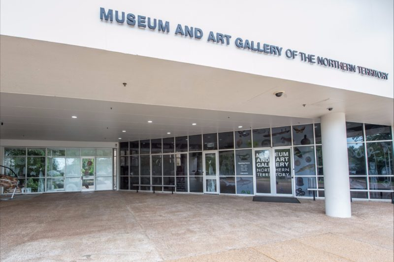 Entrance to Museum and Art Gallery of the Northern Territory