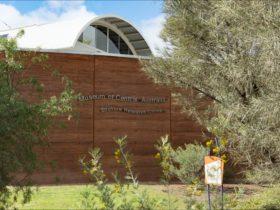 The Museum of Central Australia exterior