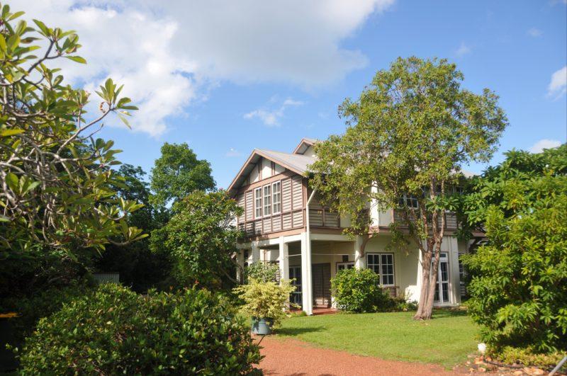 Burnett House at Myilly Point Heritage Precinct.