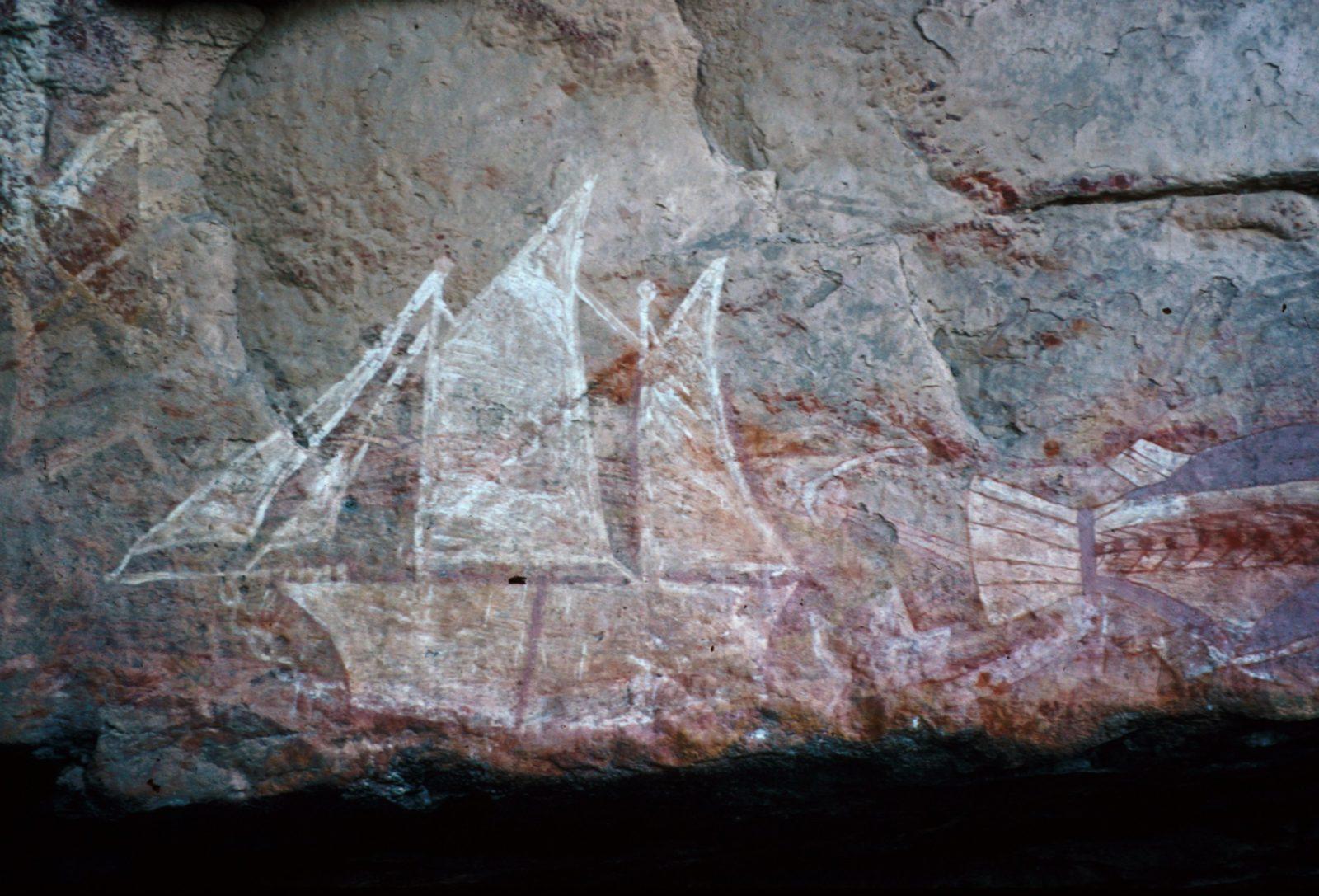 First Contact Rock Art
