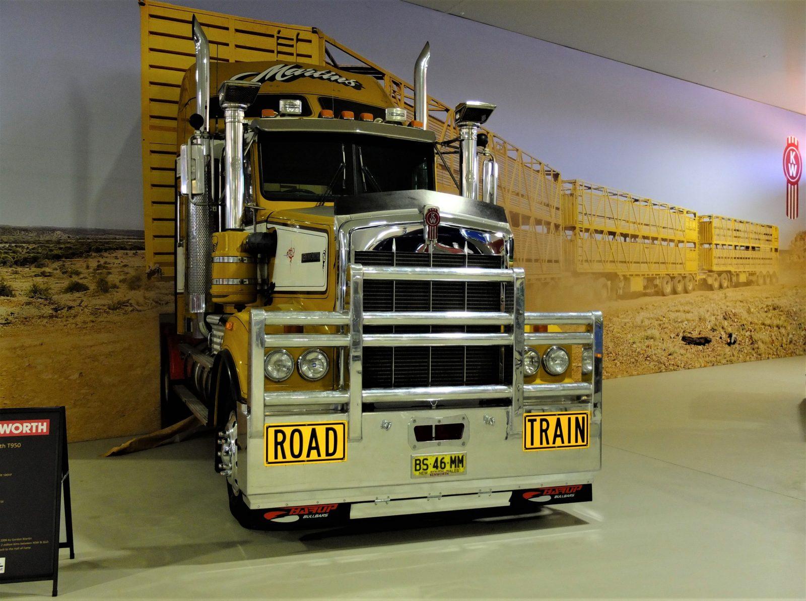 Alice Springs, Transport History, Trucks, museum, Central Australia, Road Trains