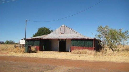 Newcastle Waters Historic Township, Tennant Creek Area, Northern Territory, Australia