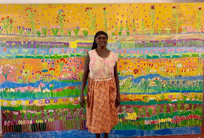 Ngukurr Arts Marra and Nunggubuyu artist Gwenneth Blitner