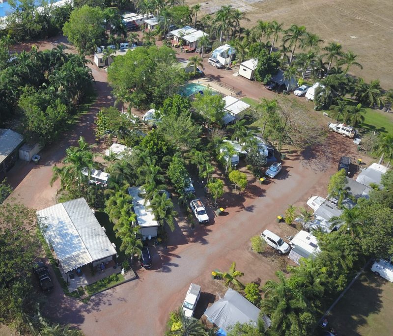 Aerial photo of Noonamah Tourist Park