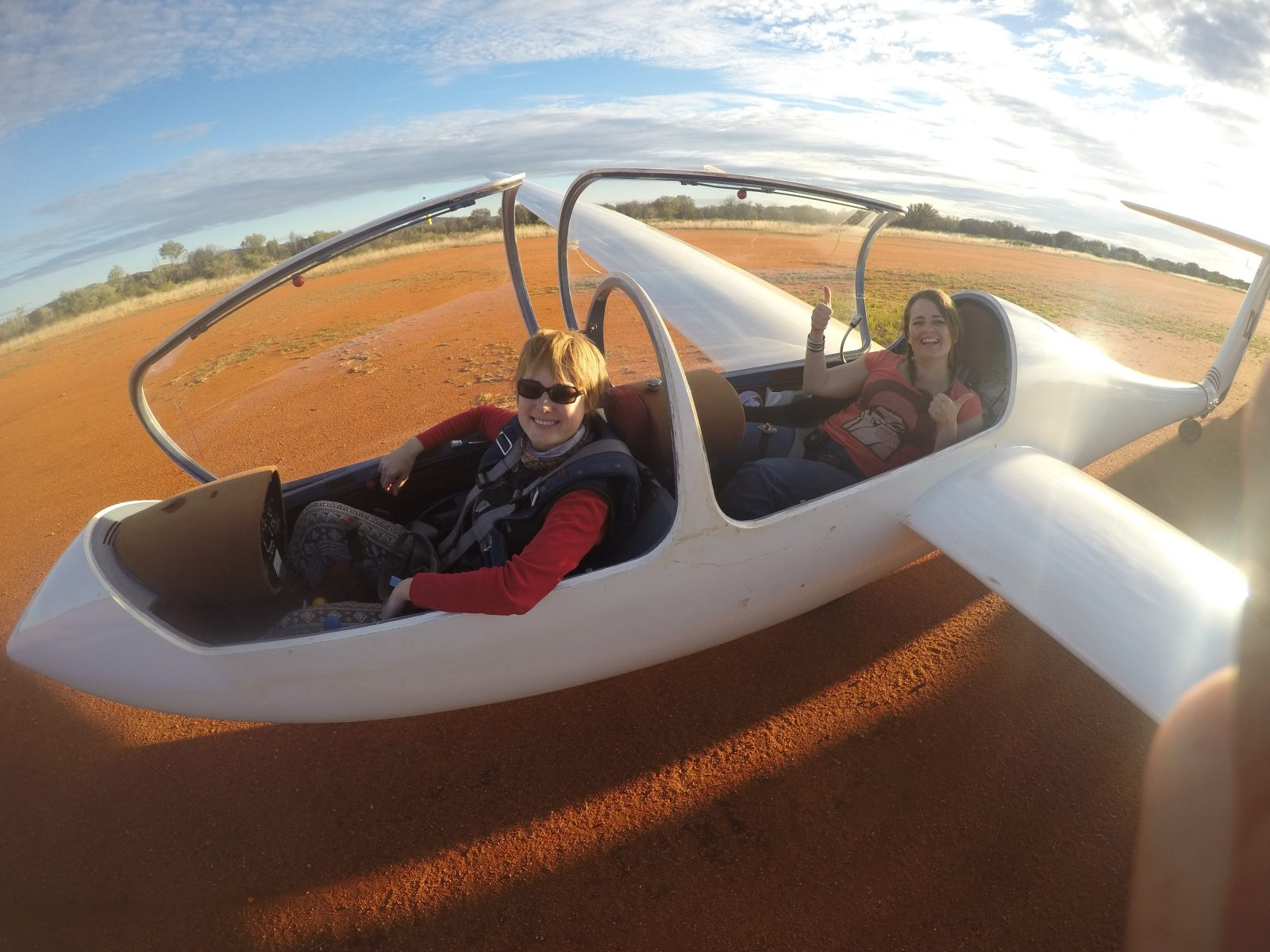NTSOARING Gliding ALice Springs Adventure Flying Course Glider rides