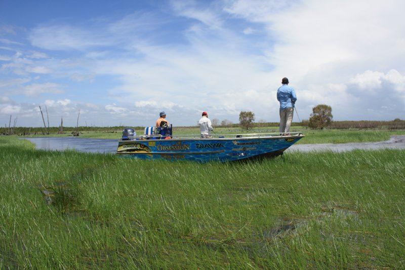 Casting on the flood plains