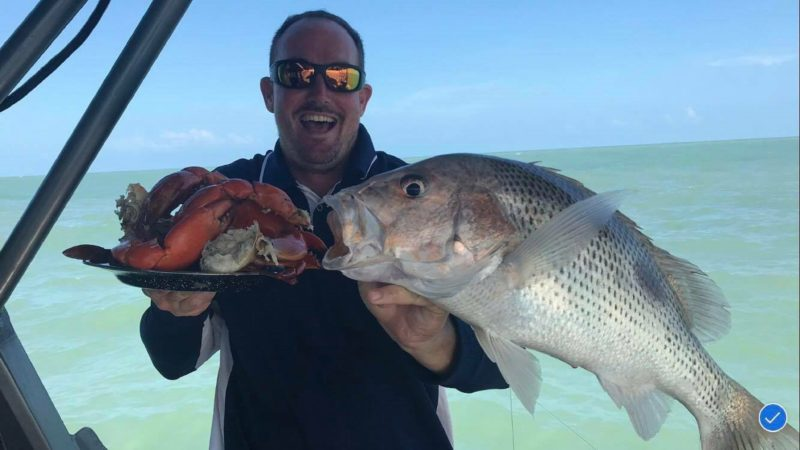 Goldies and Muddies at Offshore Boats