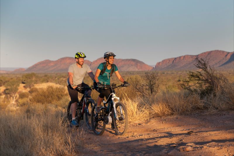 Outback Cycling Overnight Mountain Bike Adventure In Alice Springs