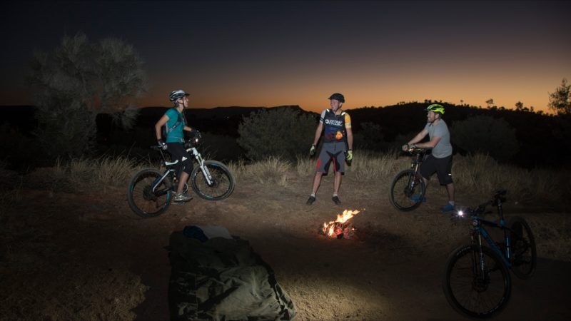 Outback Cycling Mountain Bike The Night Adventure in Alice Springs