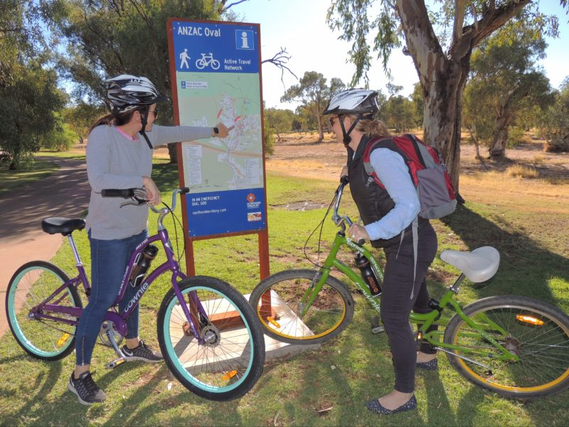 Outback Cycling Townie Bike Hire in Alice Springs