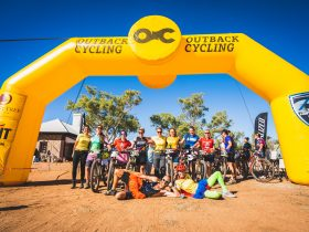 Outback Cycling Easter