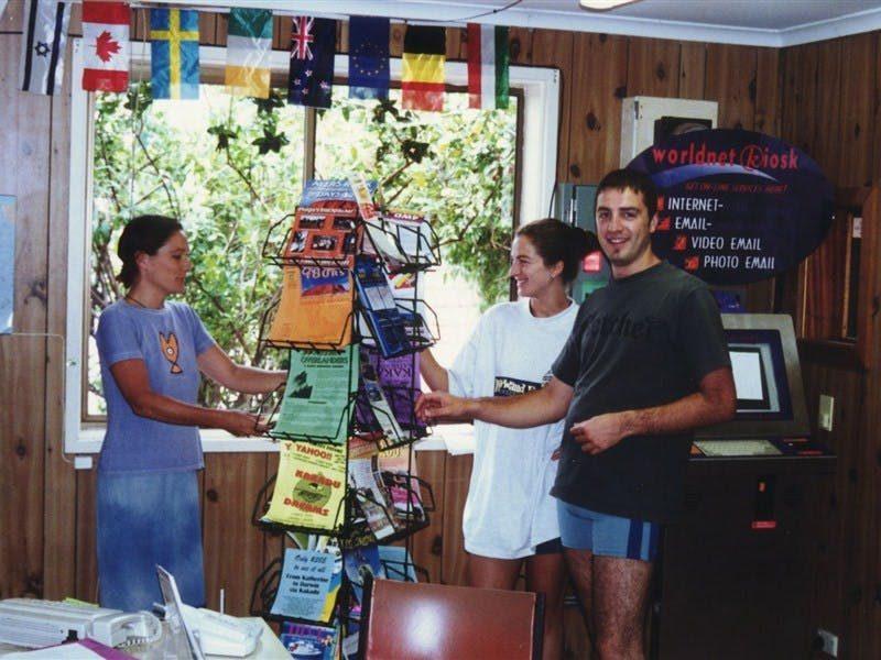 Palm Court Kookaburra Backpackers, Katherine, Northern Territory, Australia