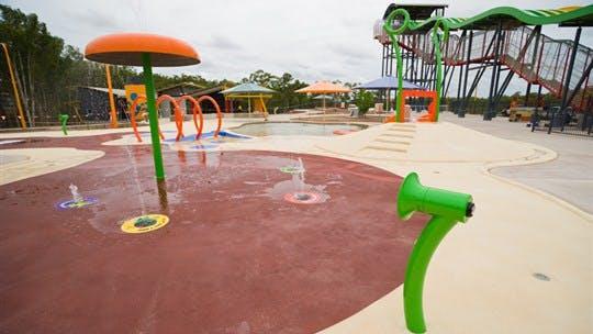 Palmerston Water Park, Darwin Area, Northern Territory, Australia