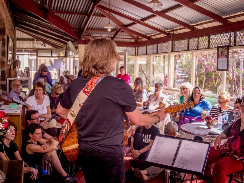 The Residency- Penatatonic- Desert Song Festival, Alice Springs