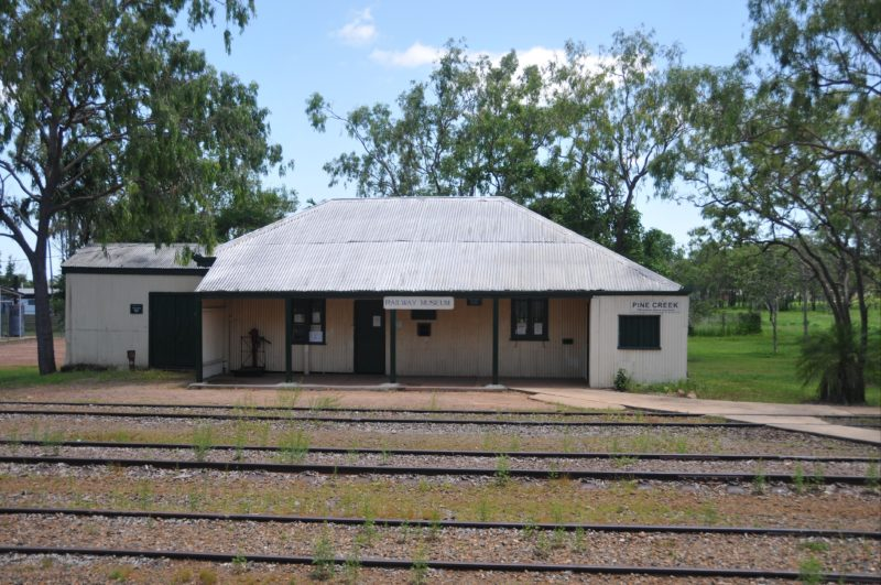 Pine Creek Railway Station Precinct.