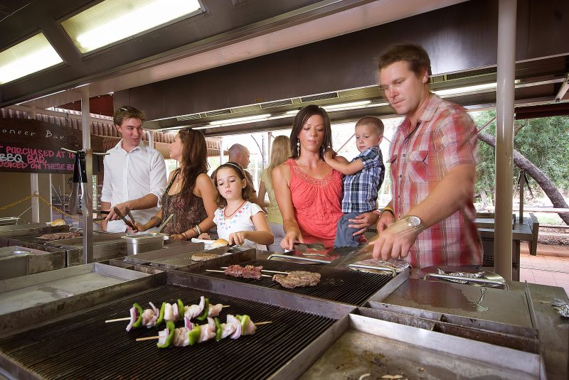 Taste Australia's pioneering past at the do-it-yourself Outback BBQ