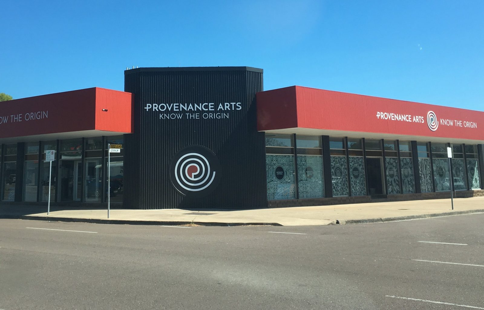 Provenance Arts building