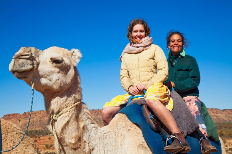 camel ride Alice Springs