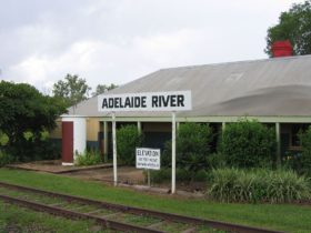 adelaide river railway station