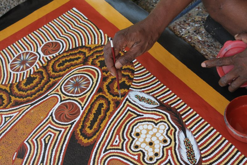 Readback Book Exchange and Aborigial Art Gallery, Darwin area, Northern Territory