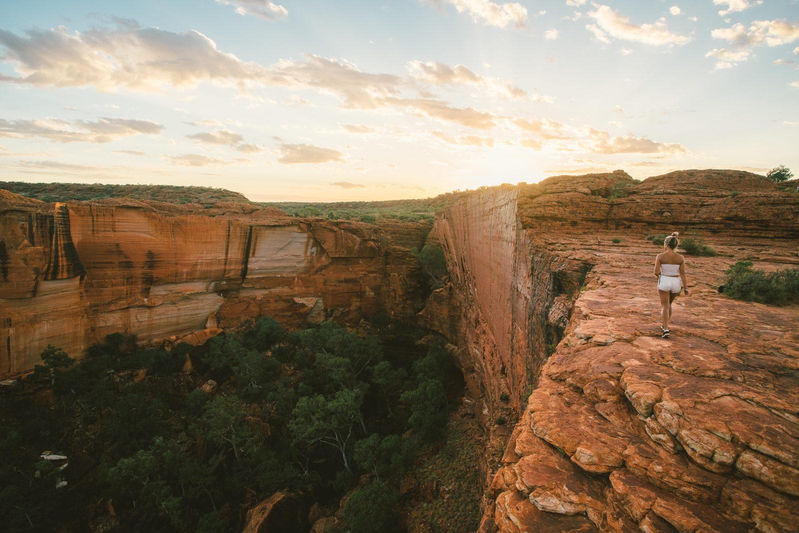 Girl at Kings Canyon