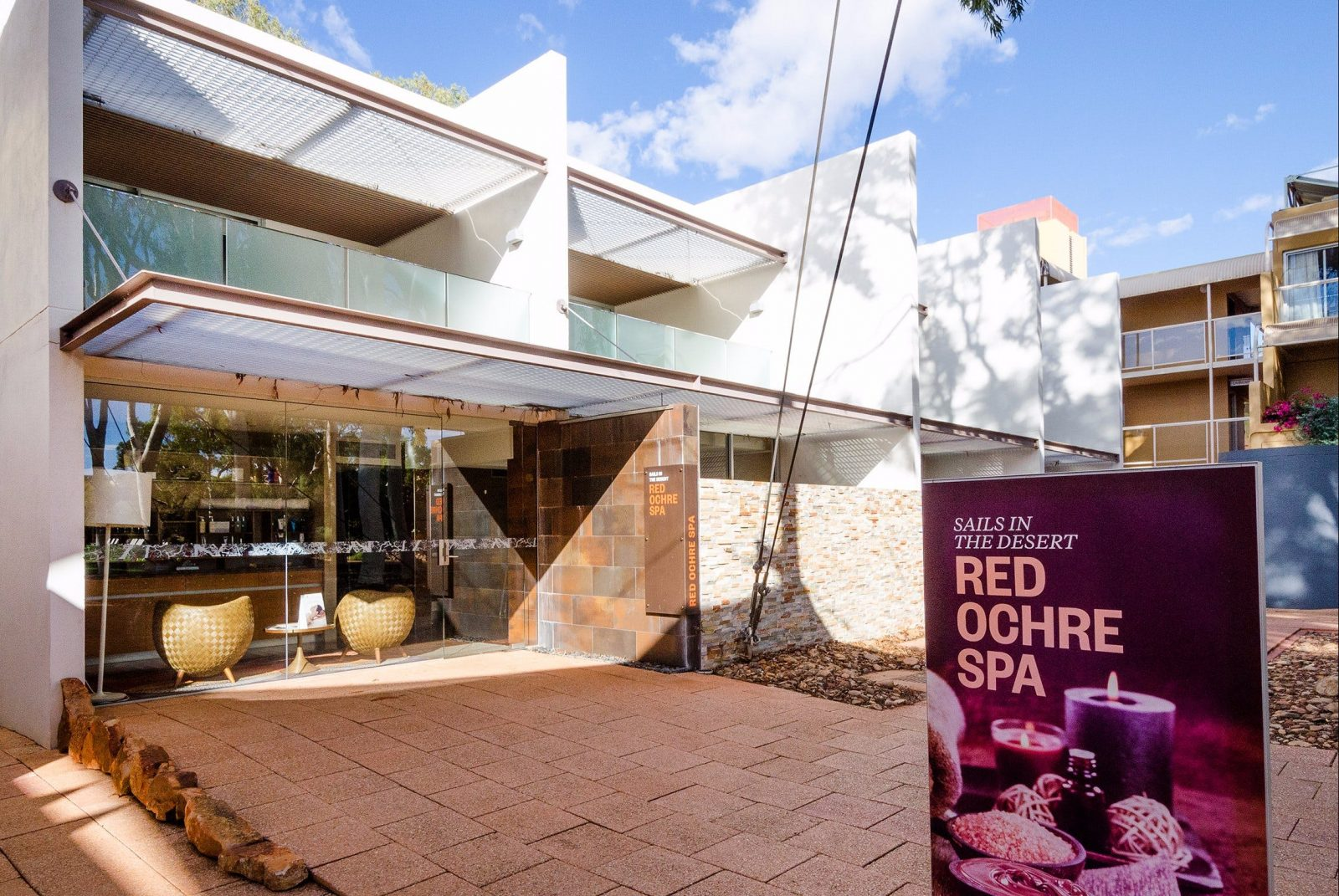 Red Ochre Spa has been designed with pampering and total indulgence in mind.