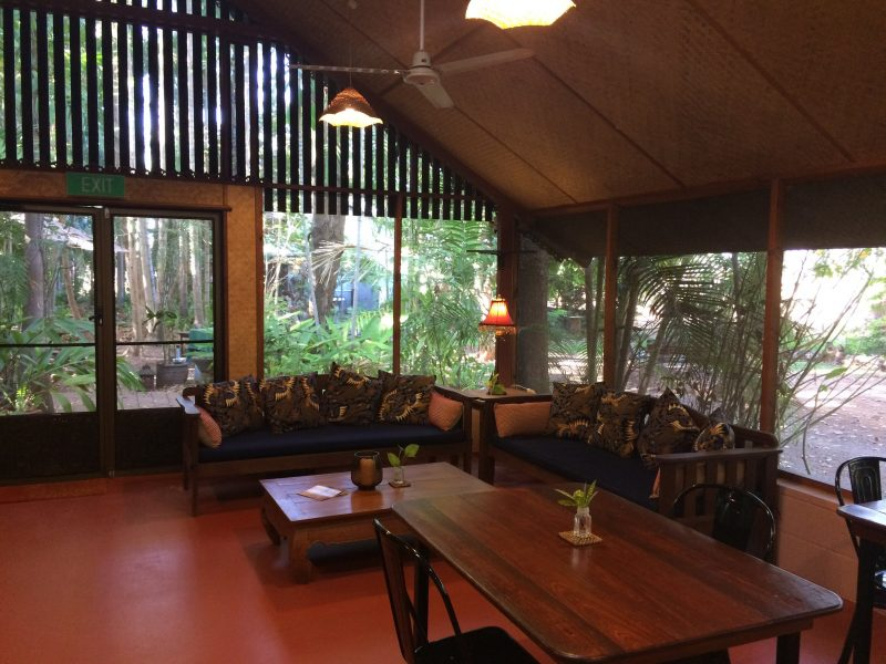 Garden room communal space - Rum Jungle Bungalows