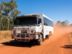 Red Centre 4wd tour coach